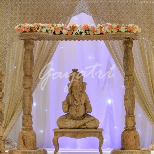 Ava indian wedding mandap decor