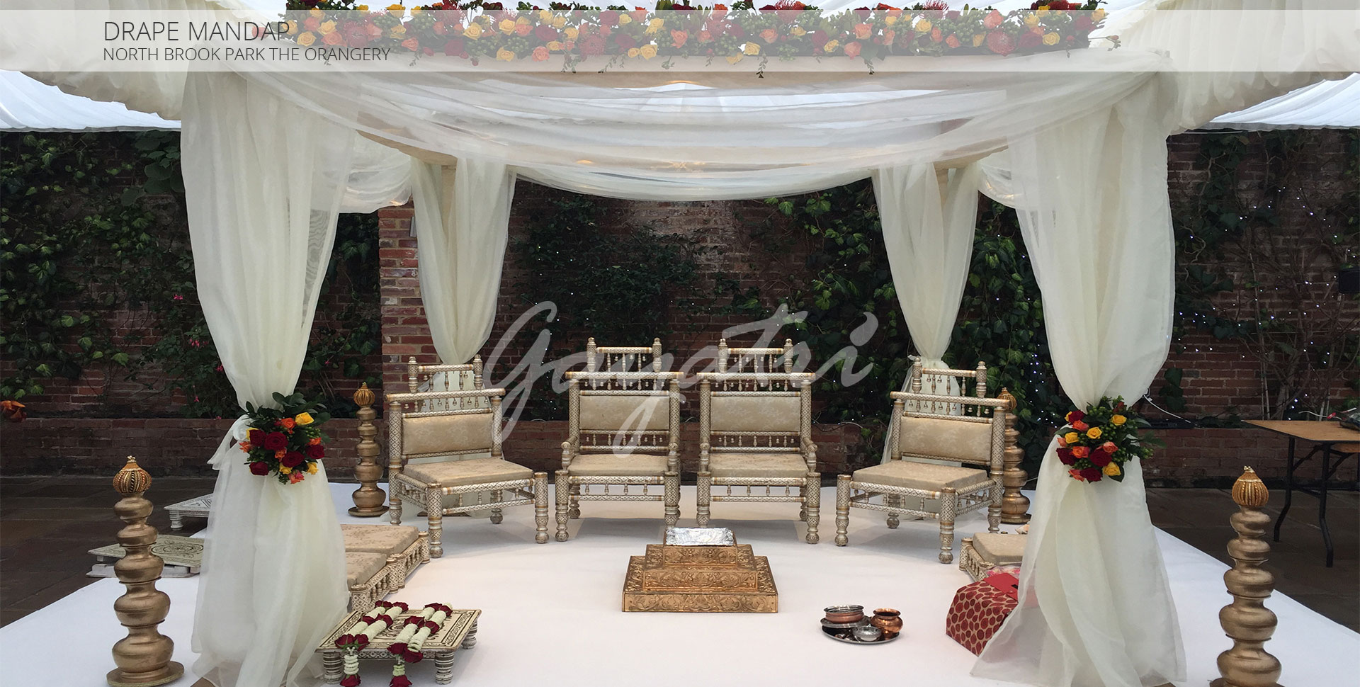 Drape Indian Wedding Mandap