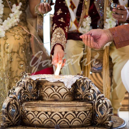 Ek Sham Indian Wedding Mandap
