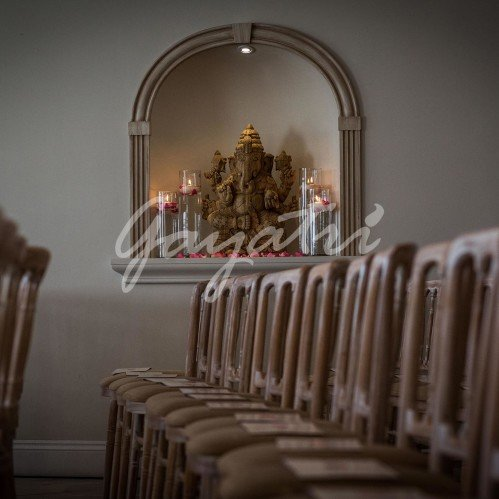 Ek Sham indian wedding mandap chair