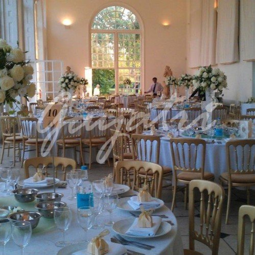 garden room syon park wedding