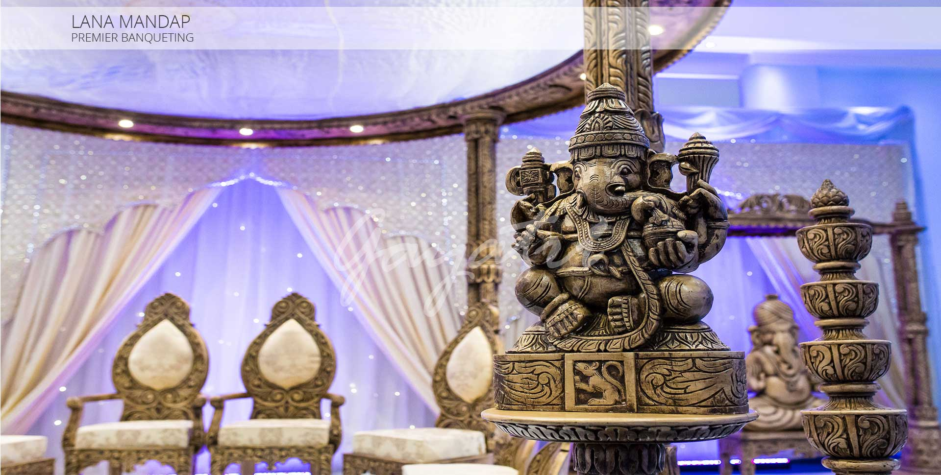 Lana Indian Wedding Mandap