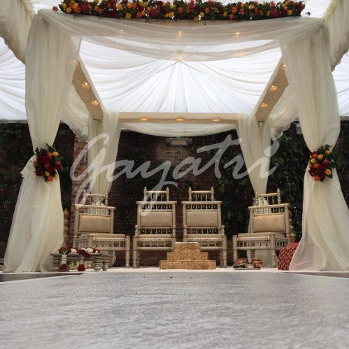 Northbrok Park mandap Decoration