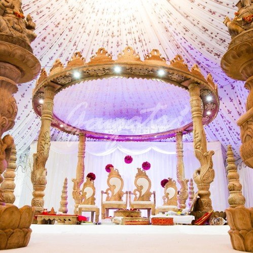 Saraswati Wedding Mandap