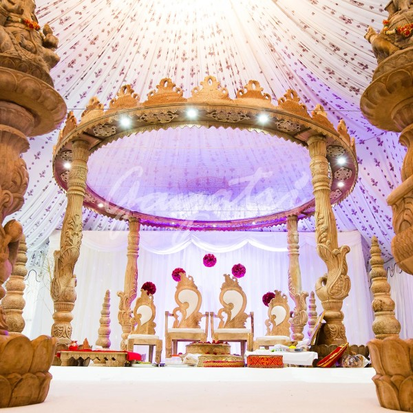 Mandaps indian wedding mandap gayatri weddings saraswati mandap junglespirit Image collections
