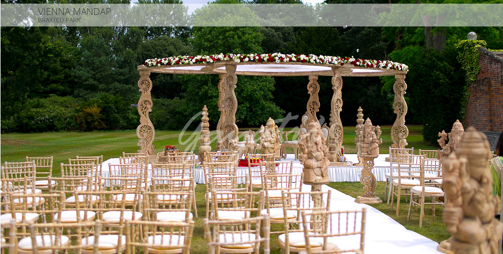 Vienna indian wedding mandap
