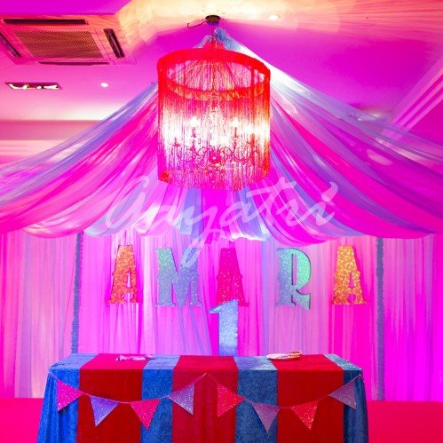 Vintage Circus party decor ideas