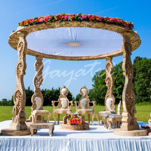 indian wedding mandap backdrops