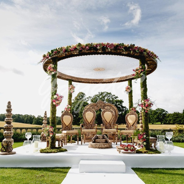 Secret Garden Mandap