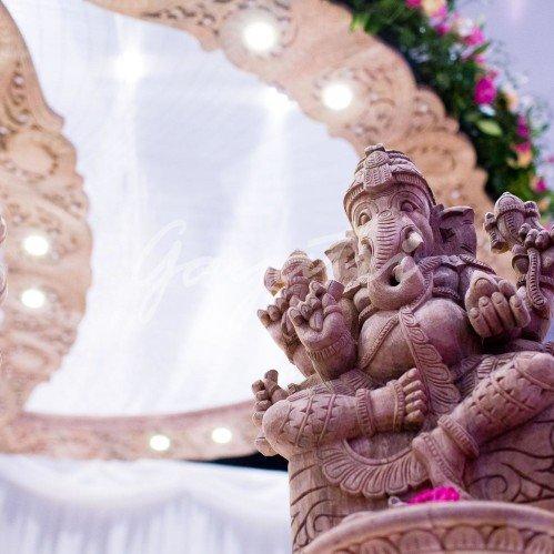 Hathi mandap decor