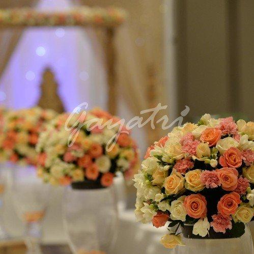 Ava indian wedding mandap decorations