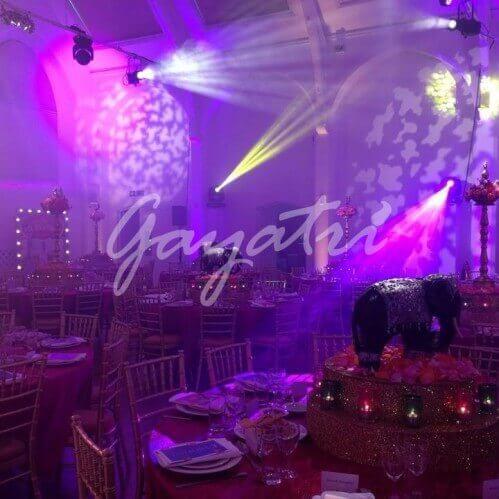 Bollywood Theme Wedding party idea