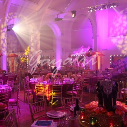 Bollywood Theme Wedding party Decore