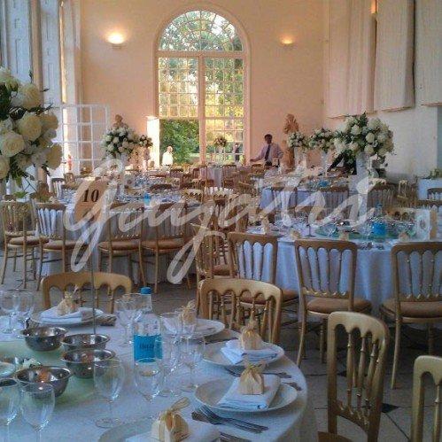 garden room syon park wedding