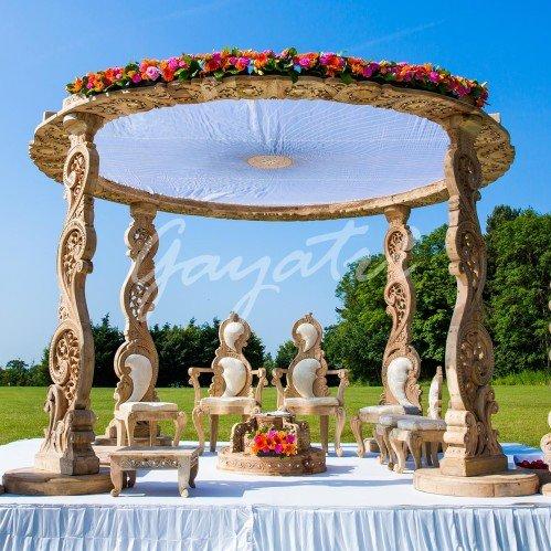 indian wedding mandap backdrops